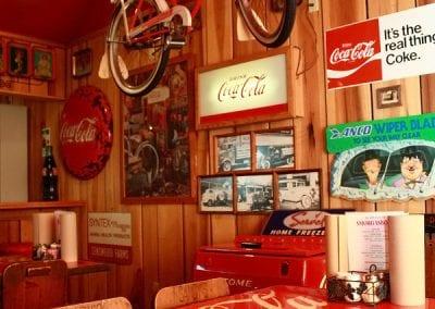 Coke Room At Sandy's Pizza